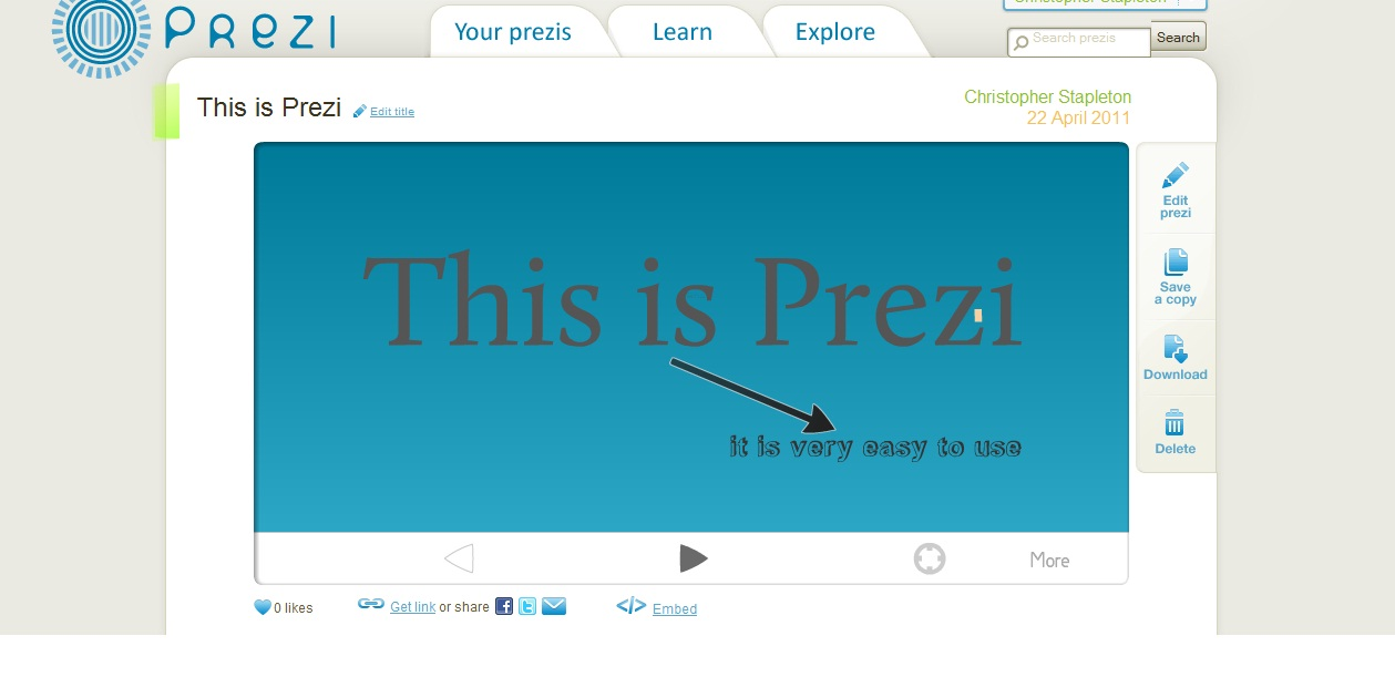 Prezi | tech4teacher
